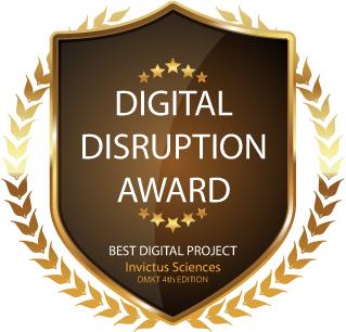 Digital Disruption Award_Invictus Sciences_4ª Edição